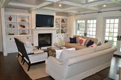 The Cape Cod Ranch Renovation: Great Room & Entry