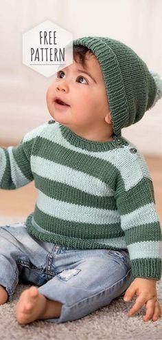 Headgear and Sweater Free Pattern