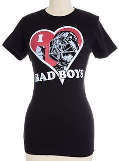 Bad Boys Star Wars Tee by Fifth Sun, BLACK, clothing,tops & tees,star wars tee,womens star wars clothing