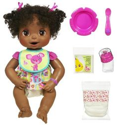 Baby Alive African American Doll See this great product. (This is an affiliate l… Baby Alive African American Doll See this great product. (This is an affiliate link) Baby Alive Doll Clothes, Baby Alive Dolls, African American Babies, American Baby, Little Girl Toys, Toys For Girls, Baby Alive Magical Scoops, Muñeca Baby Alive, Interactive Baby Dolls