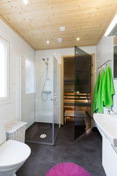 Suometar-talo (2h+k+s, 81,5 m²+yläkerta 38 m²) Bathtub, Bathroom, Standing Bath, Washroom, Bathtubs, Bath Tube, Full Bath, Bath, Bathrooms