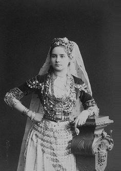 Princess Zinaida Yusupova in a Fancy Dress - Early 1880