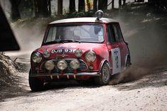 "DJB 93 B 1965 RAC rally winner( the only ""S"" to win an RAC) Aaltonen / Ambrose . &  1966 Scottish rally winner T.Fall / M.Wood ."