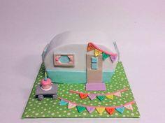 Camper Birthday Cake