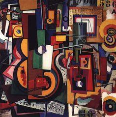 Painting 1917 Art Print by SouzaCardoso Amadeo de. Modern Art, Contemporary Art, Abstract Art Images, Pop Art, Oil Painting Abstract, Matisse, Paintings For Sale, Oil Paintings, Canvas Art Prints
