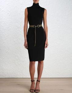 Master Poloneck Body Dress