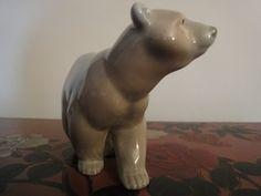 LLADRO Polar Bear figurine 4 inches high от goldersgreenantiques