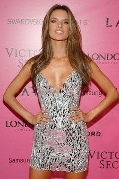 Alessandra Ambrosio at the Victoria's Secret Fashion Show After-party