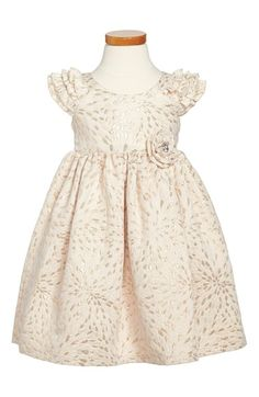 Pippa & Julie Laura Ashley Cap Sleeve Brocade Dress (Toddler Girls & Little Girls) available at #Nordstrom