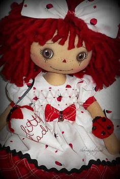 Little Lady (bug) Annie by charmingsbycmh: AVAILABLE ANNIE DOLLS