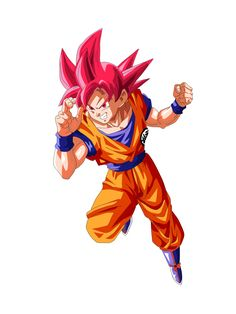 Goku Super Saiyan Dios (Dragon Ball Super) by Frost-Z on @DeviantArt