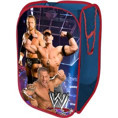Great place for laundry! Wwe Bedroom, Kids Bedroom, Bedroom Decor, Bedroom Ideas, Wwe Pop, Cool Clocks, Room Accessories, Baby Needs, Room Themes