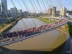 World Bike Tour em São Paulo.