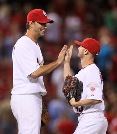 Waino and Robinson- haha