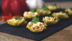 Bring the flavor to your next fiesta with Boursin Red Chili Pepper cheese in our nacho shells recipe. Our take on nachos will surely be a crowd pleaser. Nachos, Quick Recipes, Light Recipes, Cooking Recipes, Appetizer Dips, Appetizer Recipes, Party Recipes, Yummy Appetizers, Boursin Cheese