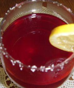 Cherry Tea Cocktail