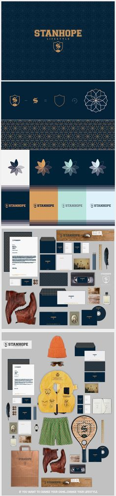 identity / Stanhope | #stationary #corporate #design #corporatedesign #identity #branding #marketing < repinned by www.BlickeDeeler.de | Take a look at www.LogoGestaltung-Hamburg.de