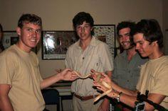 Snake handling for the trainee Rangers at Shamwari