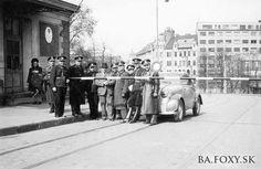Počas II. svetovej vojny bol Starý most hraničným mostom medzi Slovenskom a Nemeckou ríšou.