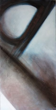 """Lidia Zdzieszyńska """"Aspiracje"""", olej na płótnie /""""Aspirations"""", oil on canvas/, 60x120cm"""
