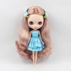 "Takara 12"" Neo Blythe Doll Curly long hair  from Factory #AG9#"