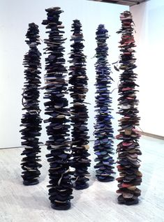 recycled environmental art sculptures 45