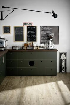 Everyone needs a coffee nook.