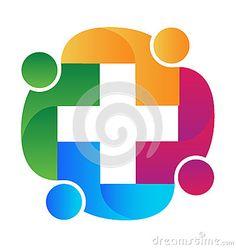 Illustration about Teamwork medical people logo helping concept vector image. Illustration of friends, contact, global - 88017487 People Logo, Medical Help, Teamwork, Logo Design, Symbols, Concept, Abstract, Logos, Friends