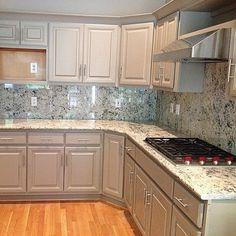 Photo: Kitchen Granite Tops & Backsplash