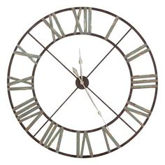 Wrought Iron wall clock For the Home Pinterest Iron wall