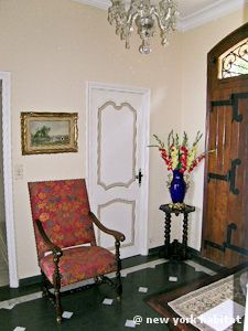 The entry foyer to a luxurious #vacation #rental on the #Riviera.... See the rest of it inside the link: http://www.nyhabitat.com/south-france-apartment/vacation/1098