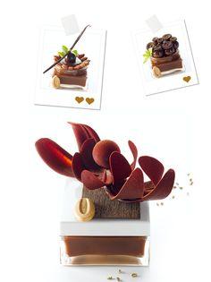 Un peu - Beaucoup - À la folie - Nicolas BERNARDE et Sylvain MEUNIER-COLIN - desserts - #plating #presentation & #chocolate