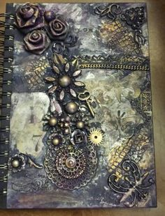 Mixed Media Art Journals by Unbridledheart on Etsy