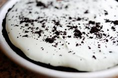 Grasshopper Pie. This turned out so delicious.