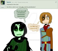 For . Morro was freaking traumatized. And I'm pretty sure Ronin thinks Chen was a better boss than Morro... ℍ ℝ &...