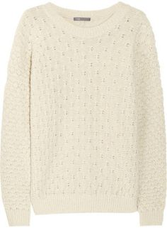 ShopStyle: Vince Wool-blend sweater