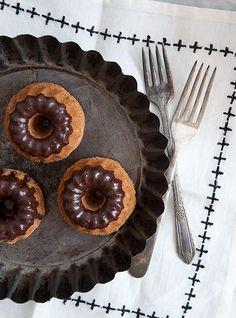 Kait Turshen's Dirty Chai Mini Bundt Cakes (Vegan, Gluten Free, Allergen Free)