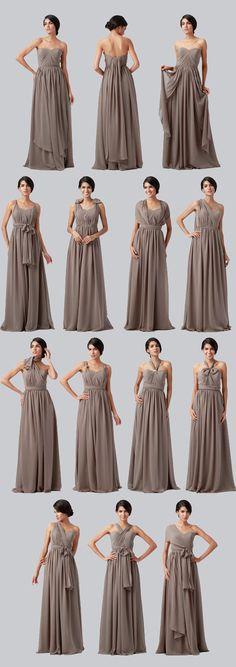 convertible bridesmaid dress @weddingchicks