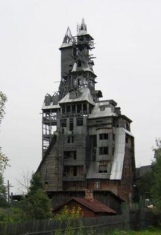 Nikolai tower, Arkhangelsk, Rusia