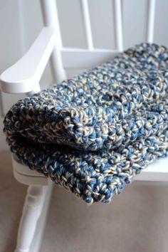 Aesthetic Nest: Crochet: Easy Baby Afghan Again
