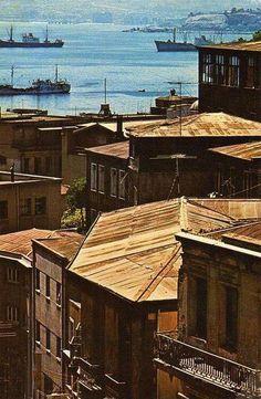 Vista del Puerto desde calle Urriola  (1979)