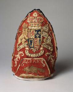 Grenadier Officer's Mitre Cap  Possibly British North American Colonies  1763-1768