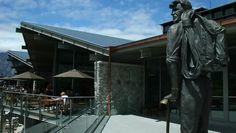 The Sir Edmund Hillary Alpine Centre, Aoraki Mount Cook Mountain Range, Mountain View, Mount Cook, Lake Tekapo, Museum Exhibition, South Island, Alps, New Zealand, Centre