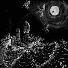 """Ilustración para el libro """"traBestiario"""", de David Sánchez Sandoval"""