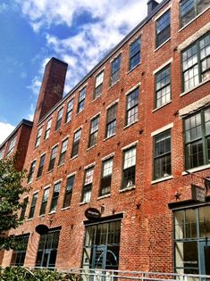 Renovated warehouses, Thayer St., South End, Boston. Perfect for apartments/coffee shops/gyms/little stores