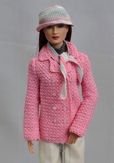 Pretty jacket (crochet pattern)