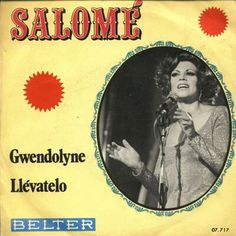 """Salomé - """"Gwendolyne"""", cover version of the spanish entry fro the Eurovision Song Contest 1970 by Julio Iglesias"""