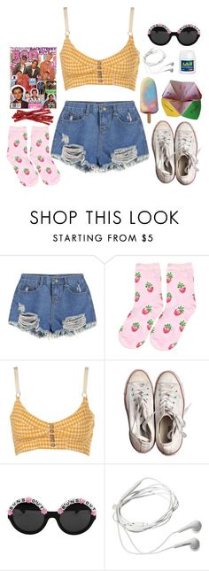 """""""3 days until texas!"""" by naughty-nymphets ❤ liked on Polyvore featuring Converse, Rad+Refined, Samsung, springbreak and nymphet"""