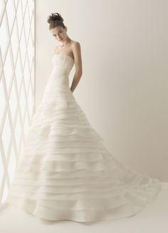 Aire Barcelona Balboa Bridal Gown