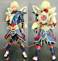 Tiger and Bunny Origami Cyclone cosplay